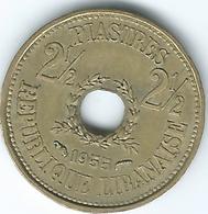 Lebanon - 1955 - 2½ Piastres - KM20 - Lebanon