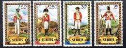 Serie Nº 527/30  St. Kitts. - Militares