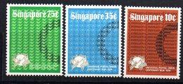 Serie Nº 211/3 Singapore - Singapur (1959-...)