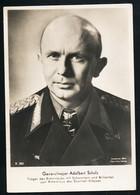 Foto AK/CP Ritterkreuzträger  Generalmajor  Adalbert Schulz Panzer   Ungel/uncirc.1933-45  Erhaltung/Cond. 2-  Nr. 00838 - Weltkrieg 1939-45