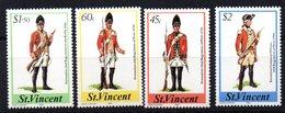 Serie Nº 784/7 St. Vincent - Militares