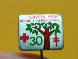 LIST 112- Red Cross, Croix Rouge, Donneur De Sang, Blood Donor, BOSNIA, Yugoslavia Tuberculose, Tuberculosis - Médical