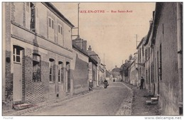 IS22-10)  AIX  EN  OTHE (AUBE) RUE SAINT AVIT  -  (ANIMÉE - 2 SCANS) - France