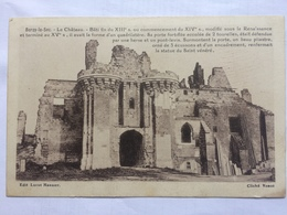 BERZY LE SEC - Le Chateau - 1940 German Feldpost - France