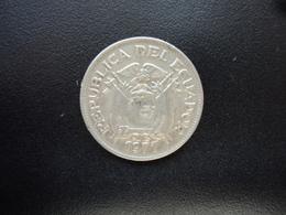 ÉQUATEUR : 50 CENTAVOS   1977   KM 81    TTB+ - Equateur