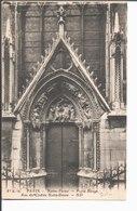 Paris. Notre Dame. Porte Rouge. Rue Du Cloître Notre Dame. Collection Notre Dame. - Notre Dame De Paris