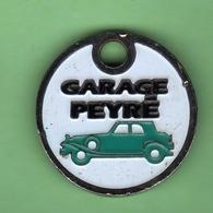1 Jeton De Caddie *** GARAGE PEYRE - ORTHEZ *** (0330) - Jetons De Caddies