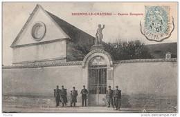 K1-10)  BRIENNE LE CHATEAU  (AUBE) CASERNE BONAPARTE   - (ANIMÉE) - France