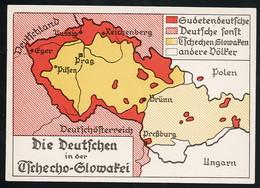 AK/CP Propaganda  Sudeten  Sudetenland   Ungel/uncirc.1933-45  Erhaltung/Cond. 1-  Nr. 00847 - Guerra 1939-45