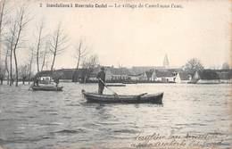 Inondations à Moerzeke Castel - Le Village De Castel Sous L'eau - Hamme