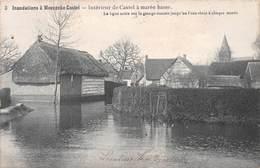 Inondations à Moerzeke Castel - Intérieur De Castel à Marrée Basse - Hamme