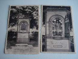Lot De 2 X Cpa Malèves Sainte Marie , Wastines , Chapelle Notre Dame Des Affligés - Belgique