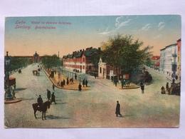 UKRAINE - Lviv Lemberg Bahhofsallee 1918 German Feldpost Card - Ukraine