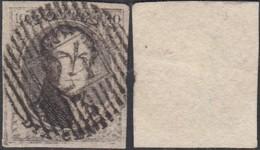 """Belgique  - COB Nº6 Sur Fragment Obl. Distribution 24 """" Mariembourg """"  (DD) DC3458 - 1851-1857 Médaillons (6/8)"""