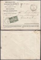 Belgique 1920 - Lettre Ouverte Des Rebuts Taxée Genval  (DD) DC3491 - Postage Due