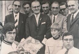 TIELT  = FOTO 1973 == 15 X 8 CM  - PAUL LANNOO - Tielt