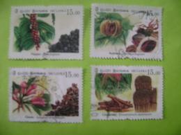 SRI LANKA (CEYLON) -- FAMOUS SPICES OF SRI LANKA FULL SET USED. - Sri Lanka (Ceylan) (1948-...)