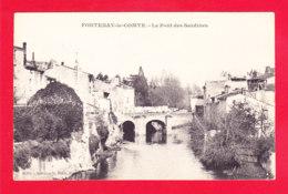 F-85-Fontenay Le Comte-143A56   Le Pont Des Sardines, Cpa BE - Fontenay Le Comte
