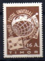 Sello  Nº  264 Timor - UPU (Universal Postal Union)