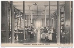 M14- 02) SOISSONS (AISNE)   HOSPICES CIVILS - LA LINGERIE   - (ANIMÉE  - -2 SCANS) - Soissons