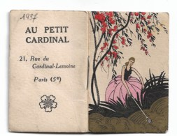 Au Petit Cardinal Paris 1937 - Kalenders