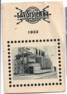 SAVOISIENNE  ANNECY   1933 - Kalenders