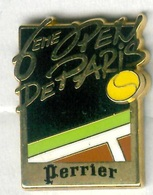 Pin's Arthus Bertrand - Tennis Open De Bercy 6ème édition Perrier - Tennis