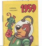 Agenda Vaillant 1959 - Calendarios