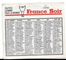 France Soir 1966 - Kalender