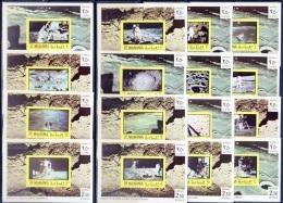 MANAMA -  16 FEUILLETS  **  - ESPACE   (1970)  APOLLO 8 à 11 - Space