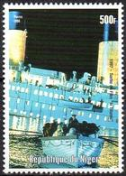 NIGER - 1v - MNH - Titanic - Disasters - Paquebots - Liner - Boats - Catastrophes - Naufrages Katastrophen Desastres - Ships