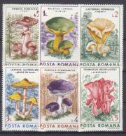 Romania 1986 Mushrooms Mi#4288-4293 Mint Never Hinged - Mushrooms