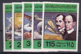 Libya 1978 Mi#682-686 Mint Never Hinged - Libye