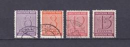 West-Sachsen - 1945/46 - Michel Nr. 129/130 X, 132/133 X - 17 Euro - Sowjetische Zone (SBZ)