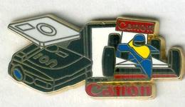 Pin's Arthus Bertrand - Canon F1 Formule 1 - Car Racing - F1