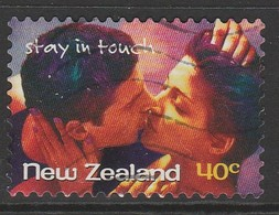 New Zealand 1998 Stay In Touch Greetings Stamps - Self-Adhesive 40 C Multicoloured SW 1732 O Used - New Zealand