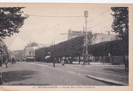 CPA  : Bourg La Reine (92) Grande Rue Et Place Condorcet   Ed La Cigogne N° 10 Rare - Bourg La Reine