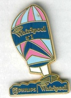 Pin's Arthus Bertrand - Bateau Navire Voilier Philips Whirlpool Version Rose - Boats