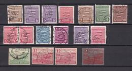 Provinz Sachsen - 1945/46 - Sammlung - Gestempelt - Sowjetische Zone (SBZ)