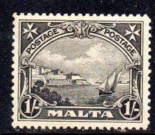 APR820 - MALTA 1926 ,  Unificato N. 127  *** Integro Gomma Scura (2380A) . - Malta