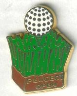 Pin's Arthus Bertrand - Peugeot Golf - Golf