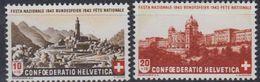 Switzerland 1943 Pro Patria / Bundesfeier 2v ** Mnh (43189) - Pro Patria