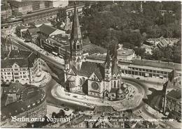 W3471 Berlin - Auguste Viktoria Platz Mit Kaiser Wilhelm Gedachtniskirche - Luftbild / Non Viaggiata - Altri