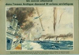 1943 Affiche Propagande Allemande ( Avions Soviétiques Abattus) - 1939-45