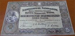 5 Schweizer Franken 1951 - Switzerland