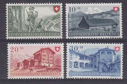 Switzerland 1948 Pro Patria 4v ** Mnh (43192) - Pro Patria