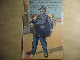 1 Carte Postale Systeme ST SAUVEUR EN RUE - Altri Comuni