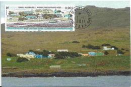 YT 581 - Base Martin De Viviès - Saint Paul Amsterdam - French Southern And Antarctic Territories (TAAF)