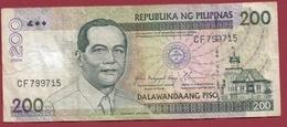Philippines 200 Piso 2004 Dans L 'état - Philippines