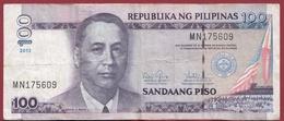 Philippines 100 Piso 2012 Dans L 'état - Philippines